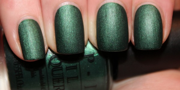 OPI - Here Today Aragon Tomorrow Suede
