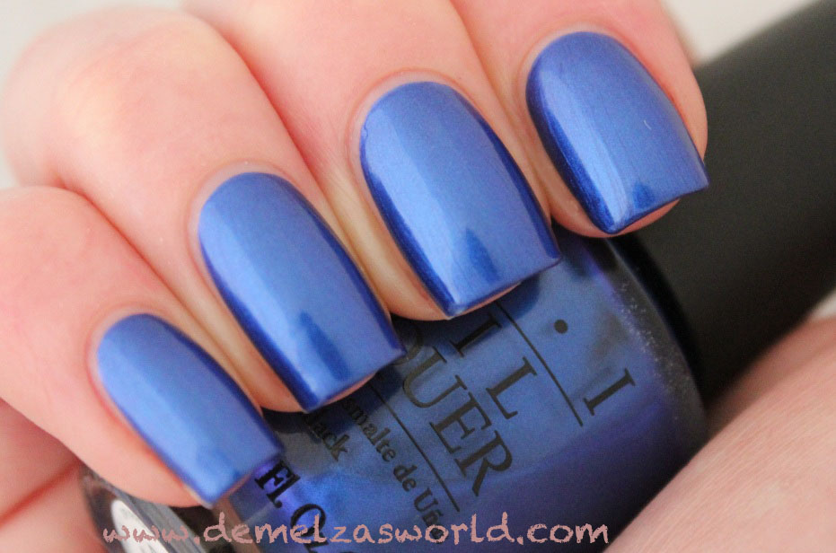 OPI - Blue My Mind 2
