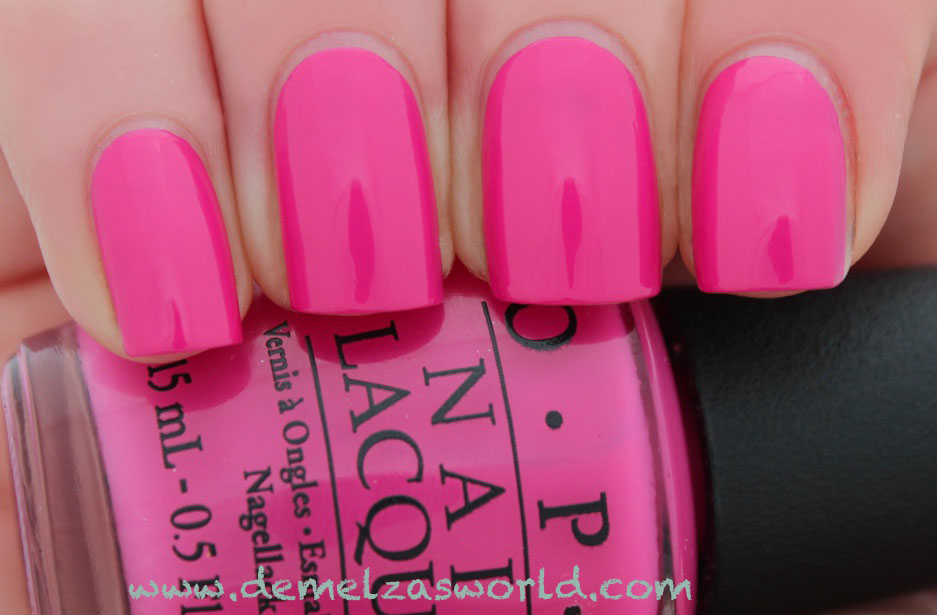 OPI - Kiss Me On My Tulips