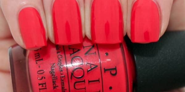 OPI - Red Lights Ahead Where?