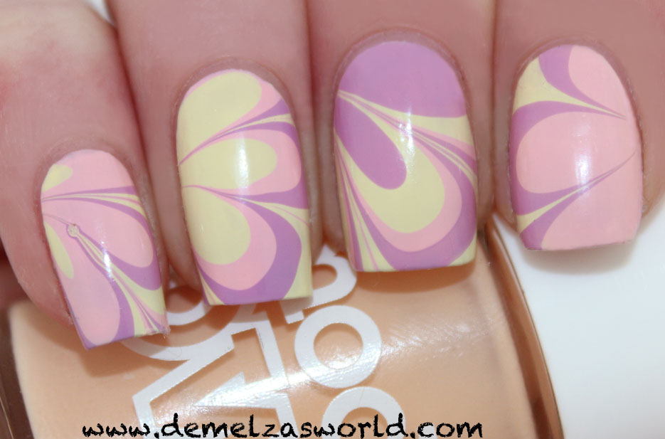 Models Own - Easter Water Marble