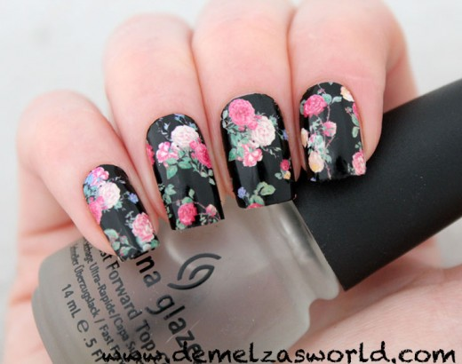 Cute Flower Nail Patches – Demelza\'s World