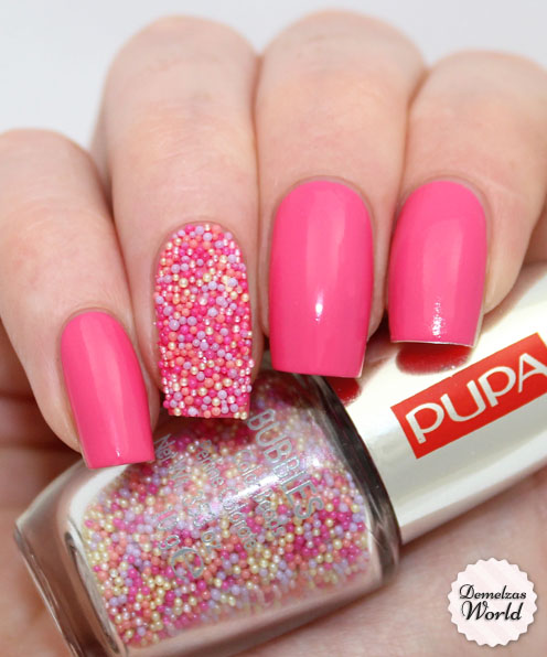 Pupa - Strawberry Multicolor - Pupa – Nail Art Mania Bubbles 008 Strawberry Multicolor – Demelza's