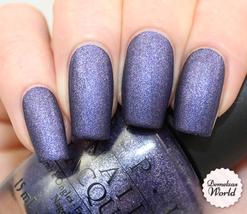OPI - Ink Suede Thumb