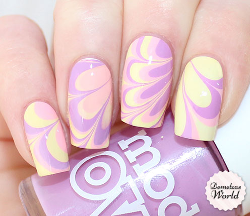 Easter Pastel Water Marble Thumb