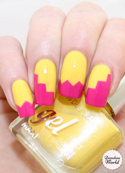 Zig Zag Manicure For Deborah Milano Beauty Club Demelzas World