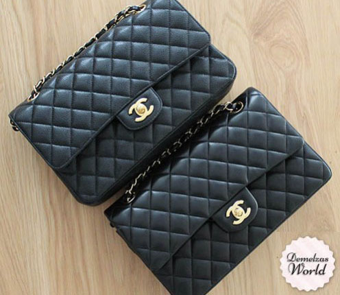 Chanel-Caviar-vs-Lambskin-2-496x486