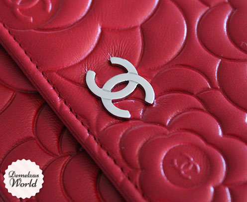 Chanel - WOC Camelia Red 10