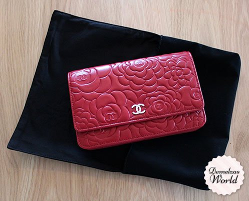 Chanel - WOC Camelia Red 5