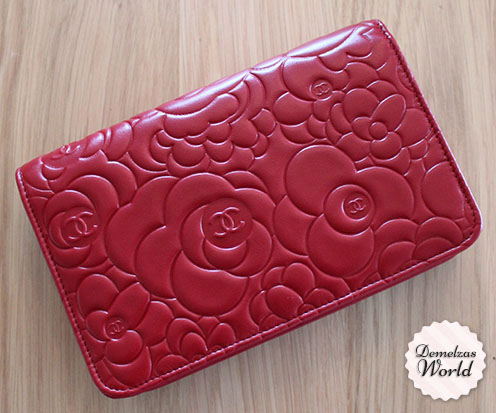 Chanel - WOC Camelia Red 7