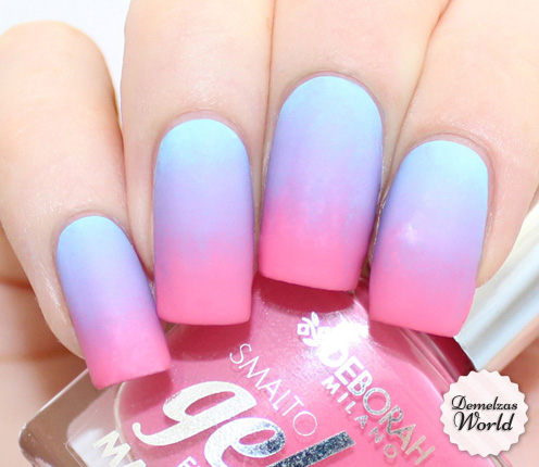 My Matte Gradient Nails For My Trip To Spain – Demelza's World