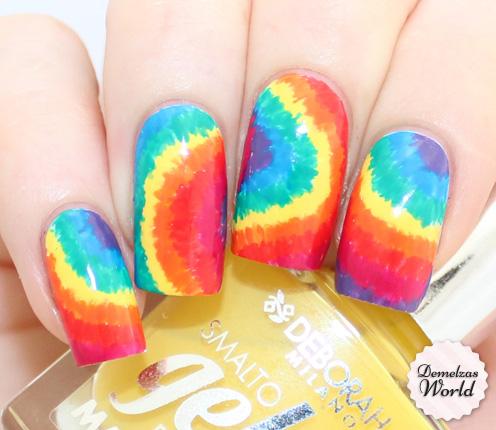 Deborah Milano - Tie Dye Nails