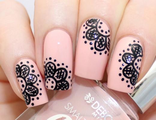 Deborah Milano - Lace Nail Art Thumbnail