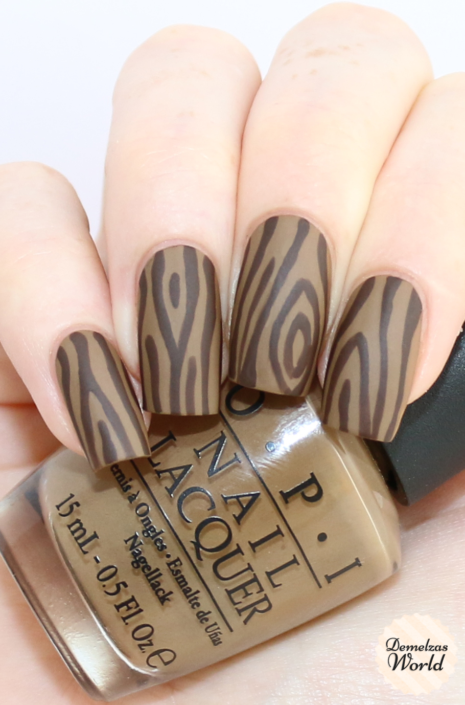 Wood Nailart Inspired by my Jord Watch – Demelza\'s World